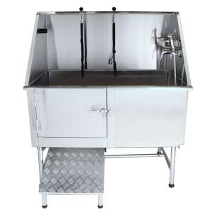 Flying Pig Grooming 62-Inches Professional Grooming Bath Tub