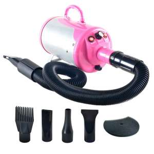 SHELANDY Dog Hair Dryers Stepless Adjustable Speed with Heater