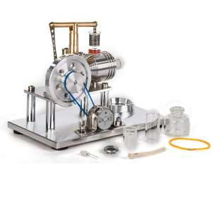 Sunnytech Hot Air SC02M Electricity Generator Stirling Engine