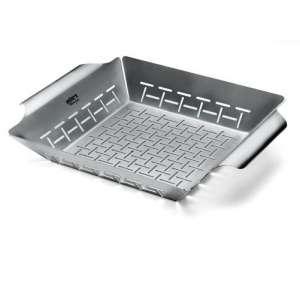 1. Weber Deluxe 6434 Grilling Basket