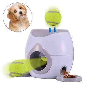 AUOKER Dog Ball Launcher with Tennis Balls