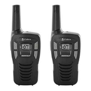 Cobra Electronics Corporation 2 Pack CX112 2-Way Radio