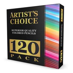 2. ARTIST 'S CHOICE 120 Colored Pencil Drawings