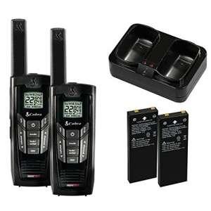 Cobra Electronics CXR925 Two-Way Radios, 35-Mile Walkie Talkies with microTalk
