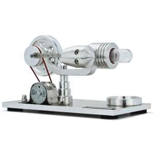 DjuiinoStar Hot Air Electricity Generator Stirling Engine
