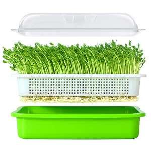LeJoy Garden Big Capacity Seed Sprouter Tray