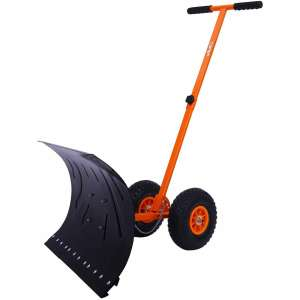Ohuhu Adjustable Snow Shovel Pusher
