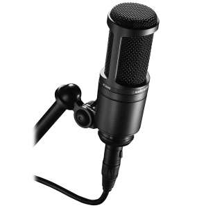 Audio-Technica AT2020 Studio XLR Microphone