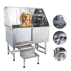 CO-Z 50-Inches Professional Dog Grooming Bath Tubs