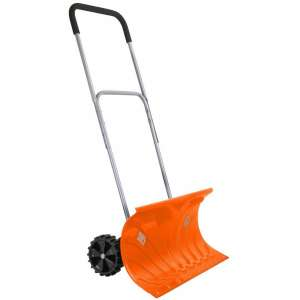 """Ivation Snow Pusher 26"""" Wide with an Adjustable Handle"""