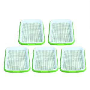 Homend 5 Pack Seed Sprouter Tray