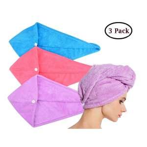 4. Hopeshine Microfiber Hair Drying Towel