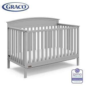 Storkcraft Graco Benton Convertible Crib, 3-Position height Adjustable Mattress