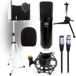 AxcessAbles SF-101Kit Studio Condenser Microphones