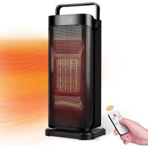 TRUSTECH 1500W Electric Space Heater, Auto Shut