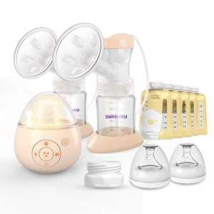 5. Yunbaby Double Electric Breast Pump (Yellow-S19)