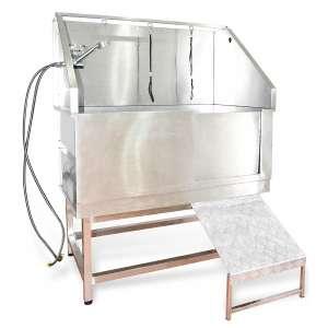 SHELANDY Stainless Steel Dog Grooming Bath Tubs