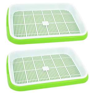 Yamix Two-Tiered Two Set Seed Sprouter Tray
