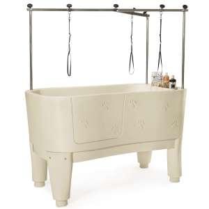 Master Equipment Polypro Dog Grooming Bath Tubs