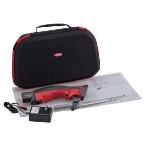 8. Berkley Fillet Knife with Folding Board, Red/Gray