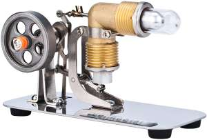DjuiinoStar Hot Air Motor Generator Model Stirling Engine