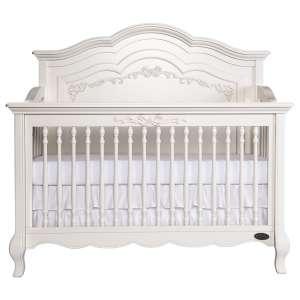 Evolur Aurora Convertible Crib, Ivory Lace