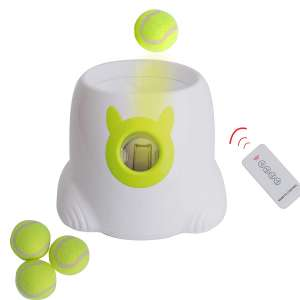 LUCKYERMORE Automatic Dog Ball Launchers and Thrower
