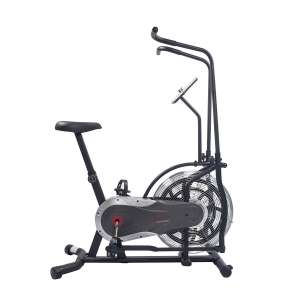 Sunny Health and Fitness Air Bike, Adjustable Handlebars