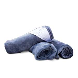 8. The Curl Co. Premium Microfiber Hair Towel