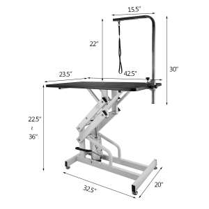 Happubuy Hydraulic Grooming Heavy-Duty Table