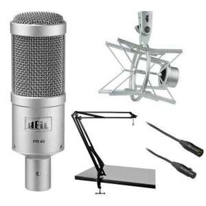 Heil Sound PR 40 Dynamic Cardioid Studio Microphone