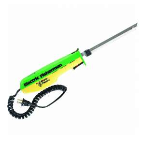 9. Mister Twister 120V Electric Fillet Knife (Green/Yellow)