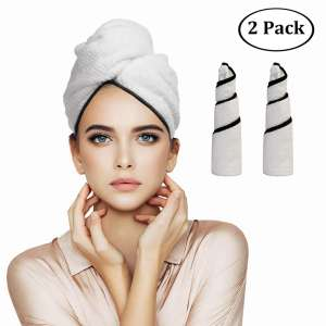 9. Orthland Microfiber Hair Towel Wraps for Women