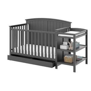Storkcraft Steveston Convertible Crib & Changer with Drawer