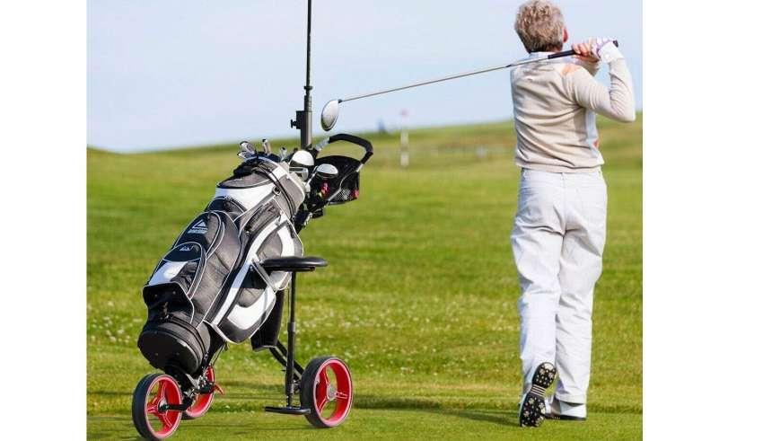 Golf Push Carts with Wheel