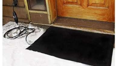 Melting Heated Walkway Mats