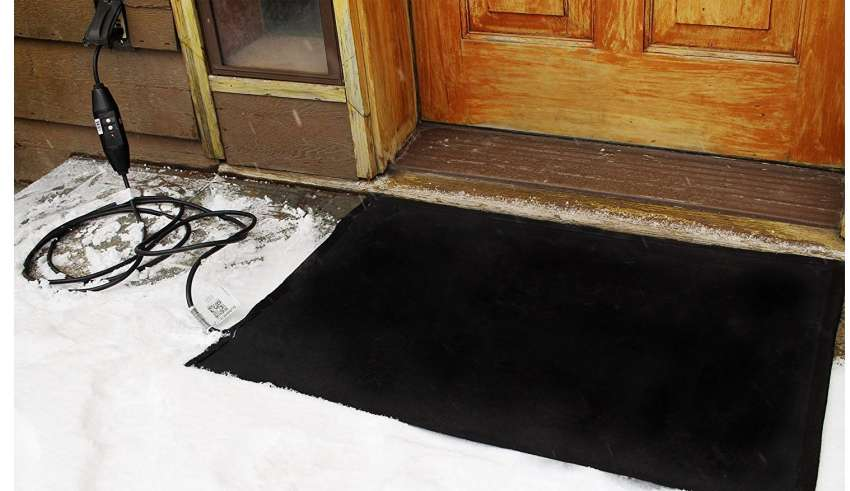 Melting Heated Walkway Mats