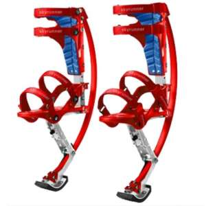Skyrunner-Iconiciris Kangaroo Jumping Stilts (Red)