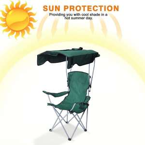Besthls Camping Chairs with Canopy