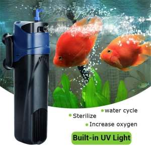 10. JUP-02 5W UV Sterilizer Water Cycle Aquarium Submersible Filter Pump