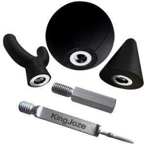 KingJoze Jigsaw Massage 3Pcs Reciprocating Adapter Bits for Muscle Relaxation