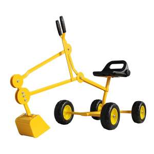 2. Childrensneeds.com Sand Digger Toy Backhoe with Wheels