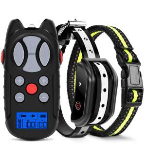 Flittor Shock Collar for Dogs with Remote Controller