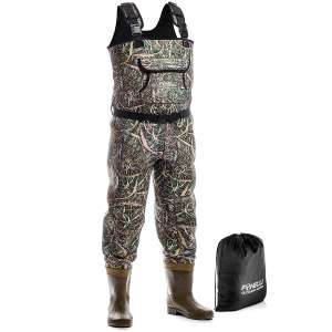 Foxelli Neoprene Chest Fishing Wader