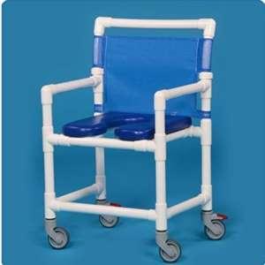IPU VL OF9200 350LBS Capacity Rolling Shower Chair
