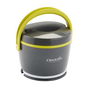 Crock-Pot Lunch Food Warmer, Grey and Lime