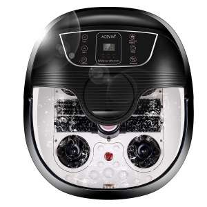 ACEVIVI Foot Spa with Heat & Massage, Adjustable Time and Temperature