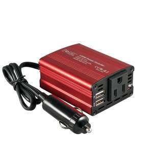 3. Foval 150W 12V DC to 110V Car Power Inverter Dual USB Charger