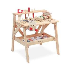 Melissa & Doug Wooden Toy Workbench