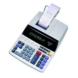 Sharp Color Printing Calculator
